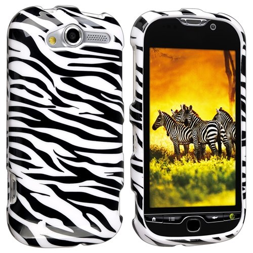 (Zebra Print Protector Case for HTC myTouch 4G)
