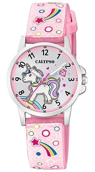 Calypso K5776/5 K5776 - Reloj de Pulsera analógico para niños (Correa de plástico, Mecanismo de Cuarzo), diseño: Amazon.es: Relojes