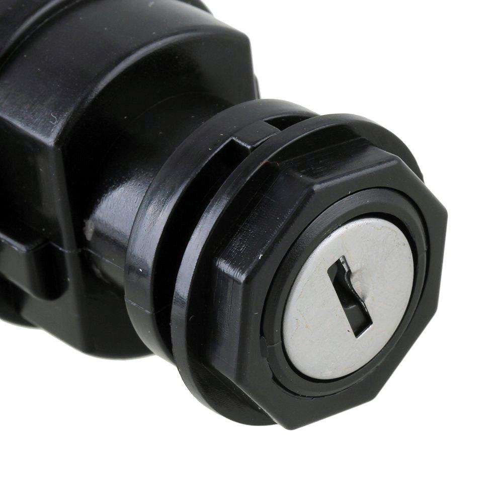 Qazaky Ignition Key Switch For Yamaha Wolverine Grizzly 2008 450 Wiring Diagram Kodiak Yfz450 Yfm400 Yfm450 Yfm45f Yfm45 Yfz Yfm 400 2003 2014 Automotive