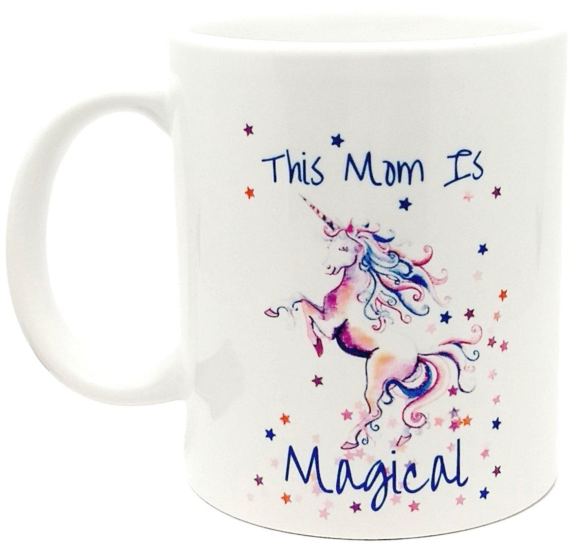 This Mom Is Magical Unicorn Coffee Mug Gift For Mom 11 oz.