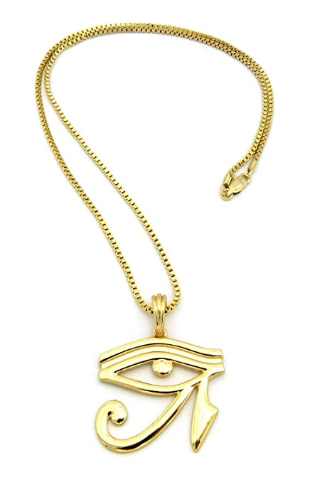 Fashion 21 Egyptian Eye of Horus Pendant Various 24