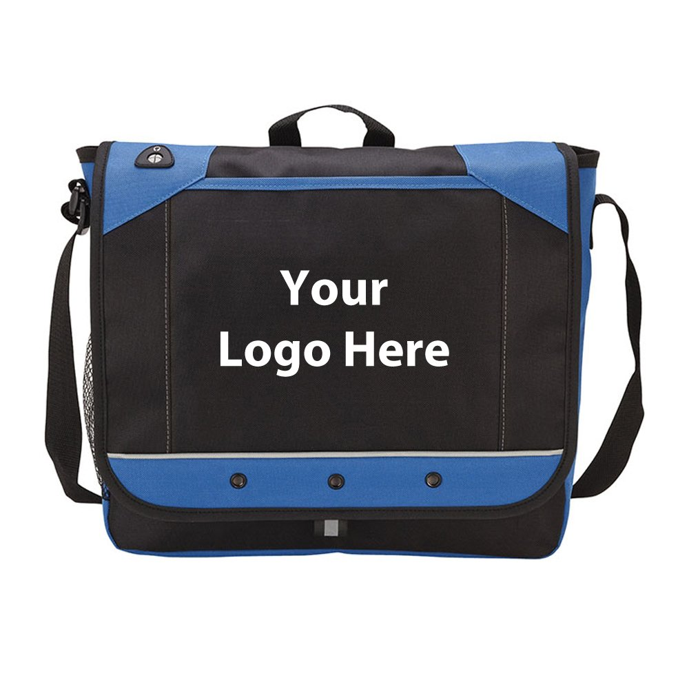 Messenger Bag - 50 Quantity - $10.10 Each - PROMOTIONAL PRODUCT / BULK / BRANDED with YOUR LOGO / CUSTOMIZED
