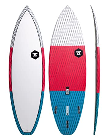 7S carbono Vector De Salero Unisex Tabla de surf/Granate/6 ...
