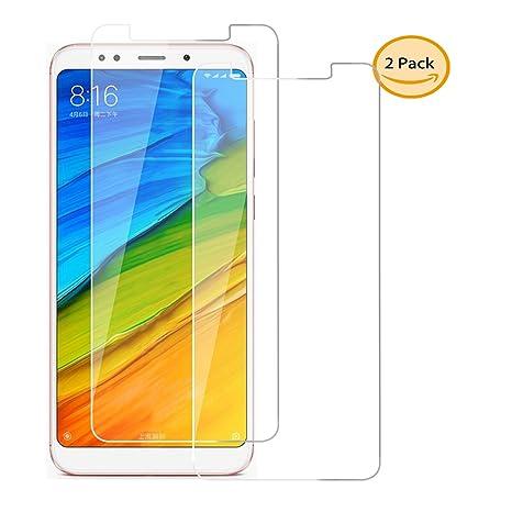 JIENI Protector Pantalla Xiaomi Redmi Note 5 / Redmi 5 Plus (5.99 ...