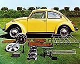1973 Volkswagen Beetle & Accessories Automobile