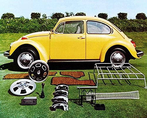 1973 Volkswagen Beetle & Accessories Automobile Photo Poster from AutoLit