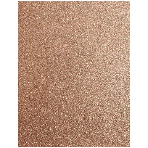 Which are the best rose gold glitter paper cardstock available in 2020?