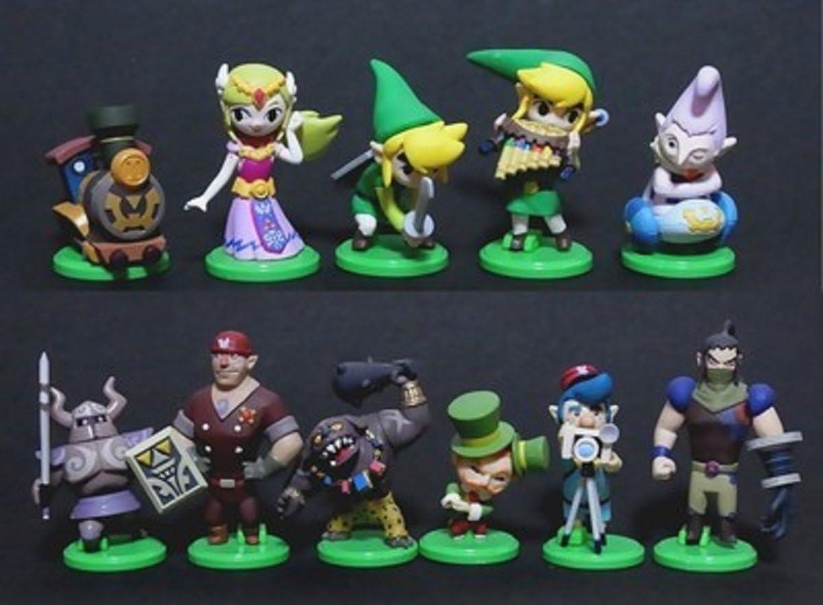 Rare Set 11 Figure Collection the Legend of Zelda Furuta Japan Original New