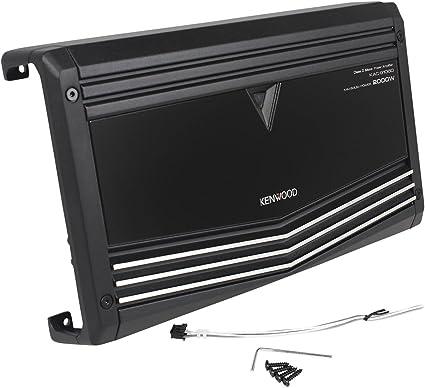 KENWOOD KAC-9106D 2000W PERFORMANCE MONO BLOCK 1-CHANNEL CLASS D CAR AMPLIFIER