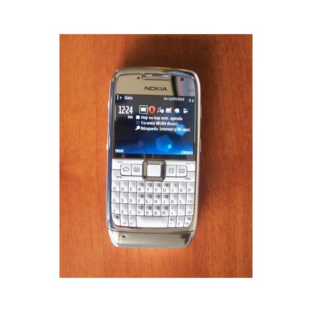 Nokia E71 Unlocked Phone with 3.2 MP Camera, 3G, Media Player, GPS with Free Voice Navigation, Wi Fi, and MicroSD Slot  U.S. Version with Warranty (White) Cell Phones & Accessories