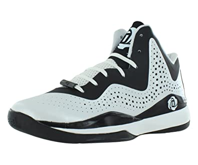 c0f32594ee7b Image Unavailable. Image not available for. Color  adidas D Rose 773 III  Mens Basketball Shoe 5 White-Black