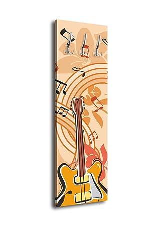 wandmotiv24 Perchero Música Guitarra G059 40 x 125 cm ...