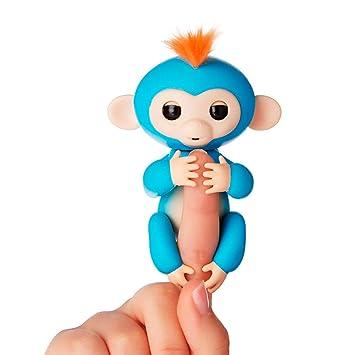 Lola El Pequeno Mono Interactivo Azul Oscuro Amazon Es Juguetes