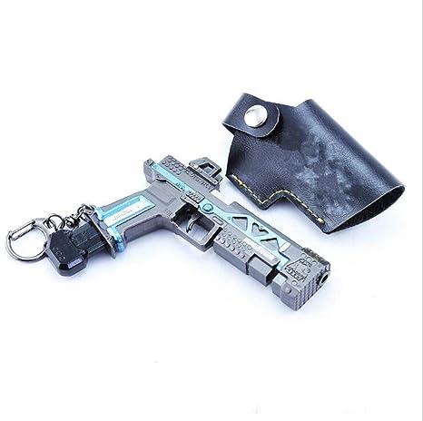 R45 pistola R45 modelo de pistola modelo de juego llavero de ...