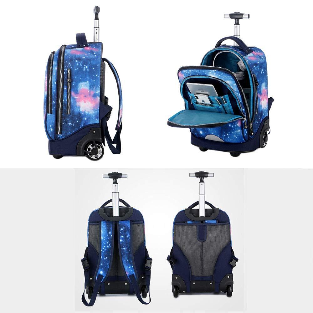 Bolsa de viaje unisex simple, bolsa de mochila con carro para ...