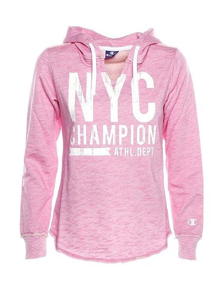 Champion - Sudadera - para Mujer Rosa Large