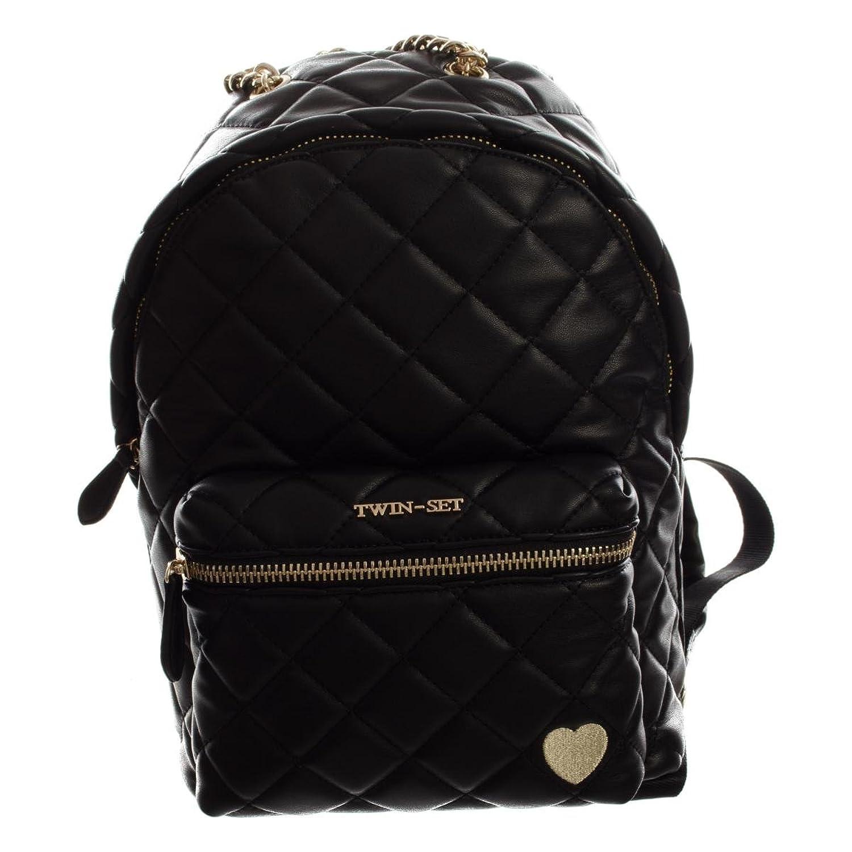 Twin-Set Zaino damen, rucksack, schwarz