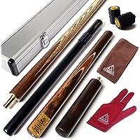 cuesoul 144,8cm Extension 3/4avec mini fût queue Snooker avec fin Fabriqué en aluminium Livré dans étui