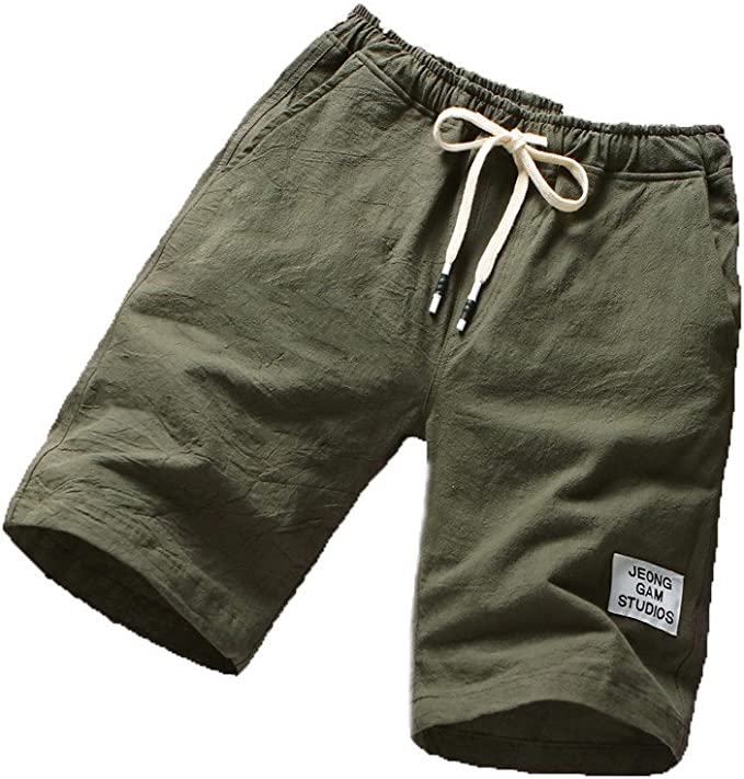 F/_Gotal Men/'s Sports Training Shorts Elastic Waist Sports Pants Training Jogger Shorts Sweatpants Shorts for Men