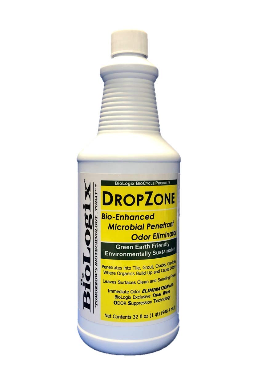 BioLogix DropZone with BioLogix exclusive OST (Odor Suppression Technology) is environmentally friendly and safe for use on virtually all hard surfaces and areas where stubborn stains (12, Quart Case)