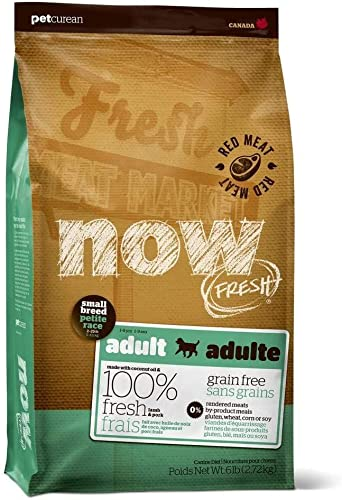 Now Fresh Grain Free Adult Small Breed Red Meat Recipe Dry Dog Food