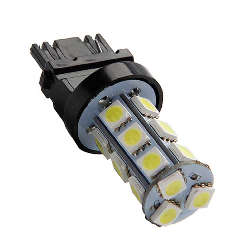 TABEN 1157 BAY15D 7528 1016 1034 2397 3496 White 8000K LED Light 12V 5050 18 SMD Car Replacement For Interior RV Camper Turn Signal Light Lamps Tail BackUp Bulbs Pack of 2