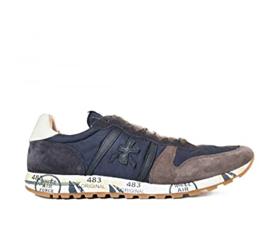 PREMIATA Herren Sneaker Blau Blau, Blau - Blau - Größe  43 EU ... 6db791af8c