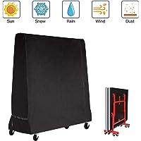 Fayttoli Funda Protectora para Mesa de Ping-Pong Impermeable Resistente al Polvo Anti-UV Protección Oxford 165x70x185cm Negro