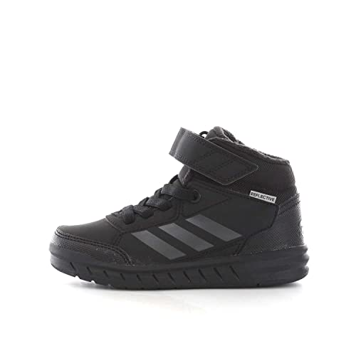 detailed look 990be 53b95 Adidas Boy s Altasport Mid El K Cblack Cblack Cblack Sports Shoes - 2  UK India (34 EU)(S81090)  Buy Online at Low Prices in India - Amazon.in