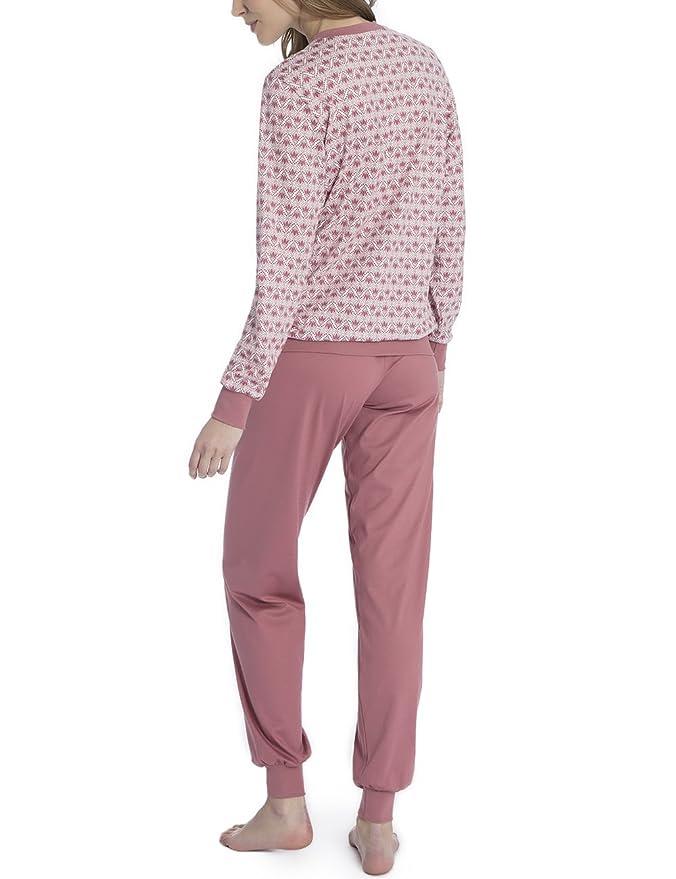 6117ea71ccd191 Calida Damen Enya Zweiteiliger Schlafanzug