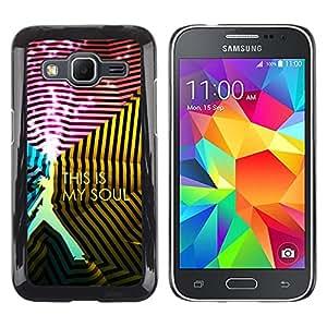 Stuss Case / Funda Carcasa protectora - This Is Soul - Samsung Galaxy Core Prime