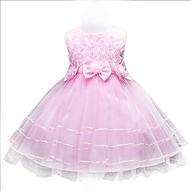 YIFAN DREAM Baby Dress, Summer Temperament, Girls Wedding Flower boy Dress, Flower Princess