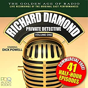 Richard Diamond, Private Detective, Vol. 1 Radio/TV Program