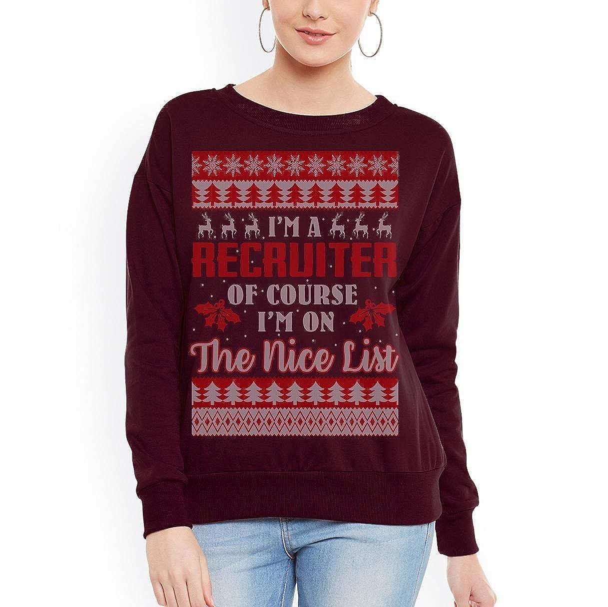 tee Best Ugly Christmas Recruiter Unisex Sweatshirt