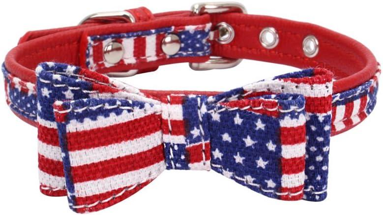 Mcdobexy Collar de Perro con Lazo, Suave y cómodo, con Bonito Agarre/trapa, Collar Ajustable para Gato: Amazon.es: Productos para mascotas
