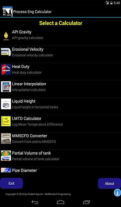 amazon com process eng calculator appstore for android