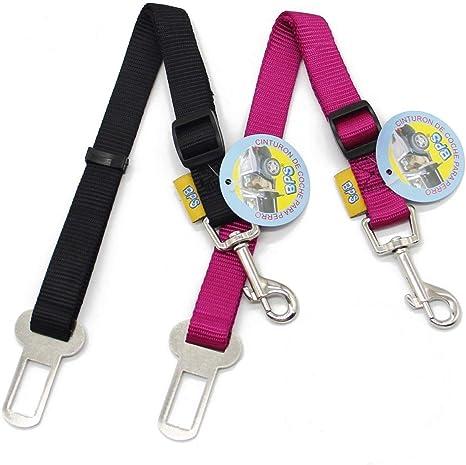 BPS(R 2X Cinturón de Seguridad de Coche,Ajustable para Perro,Color ...