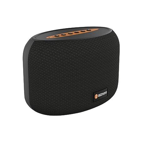GIZMORE Portable Speaker 5W GIZ MS501 Black Outdoor Speakers at amazon