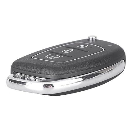 Amazon.com: GZYF 3 botones de repuesto sin llave mando a ...