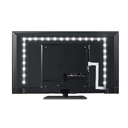 PEYOU Lighting - Kit de Tiras de luz de Fondo LED para televisores ...