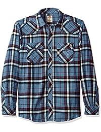 "<span class=""a-offscreen"">[Sponsored]</span>Men's Western Flannel Shirt"