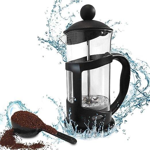 JIUYUE Cafetera Francesa Ollas de café, de Alta Temperatura de ...