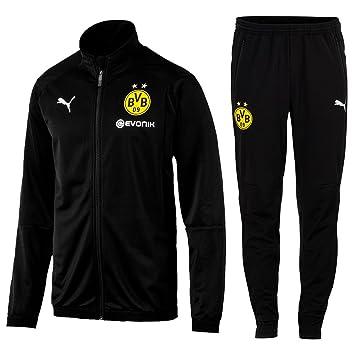 Puma Fútbol Borussia Dortmund Poly Chándal 2018 2019 Chaqueta Pantalones  Hombre y niño Amarillo Negro 81b1304c31e1f