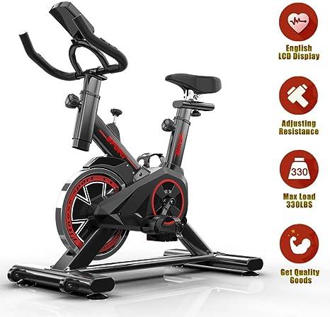 LCD Heimtrainer Fahrrad Home Indoor Cycling Fitnessbike Ergometer Trimmrad 150kg