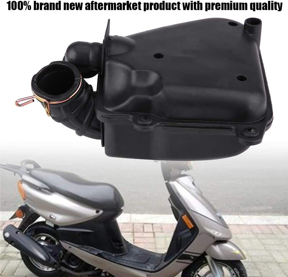 Acouto Scooter Air Filter Box Assembly Housing for Yamaha Minarelli JOG 50 90 3KJ 4DM CPI