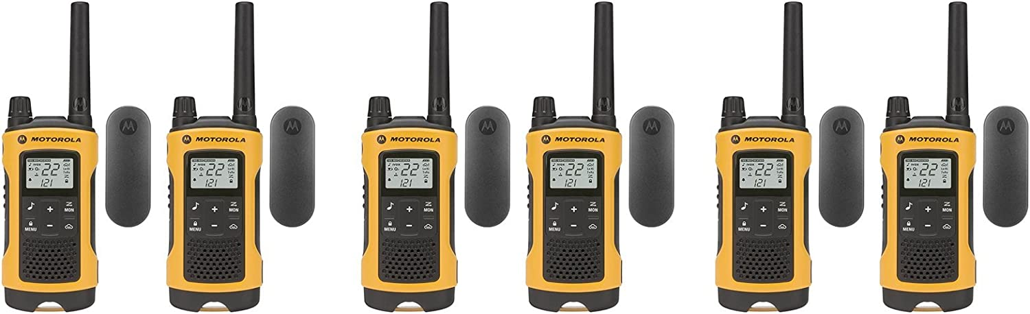 Motorola Talkabout T402 FRS/GMRS Two-Way Radio 6-Pack