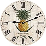 Cheap Pineapple Wall Clock- Personalized Pineapple Clock