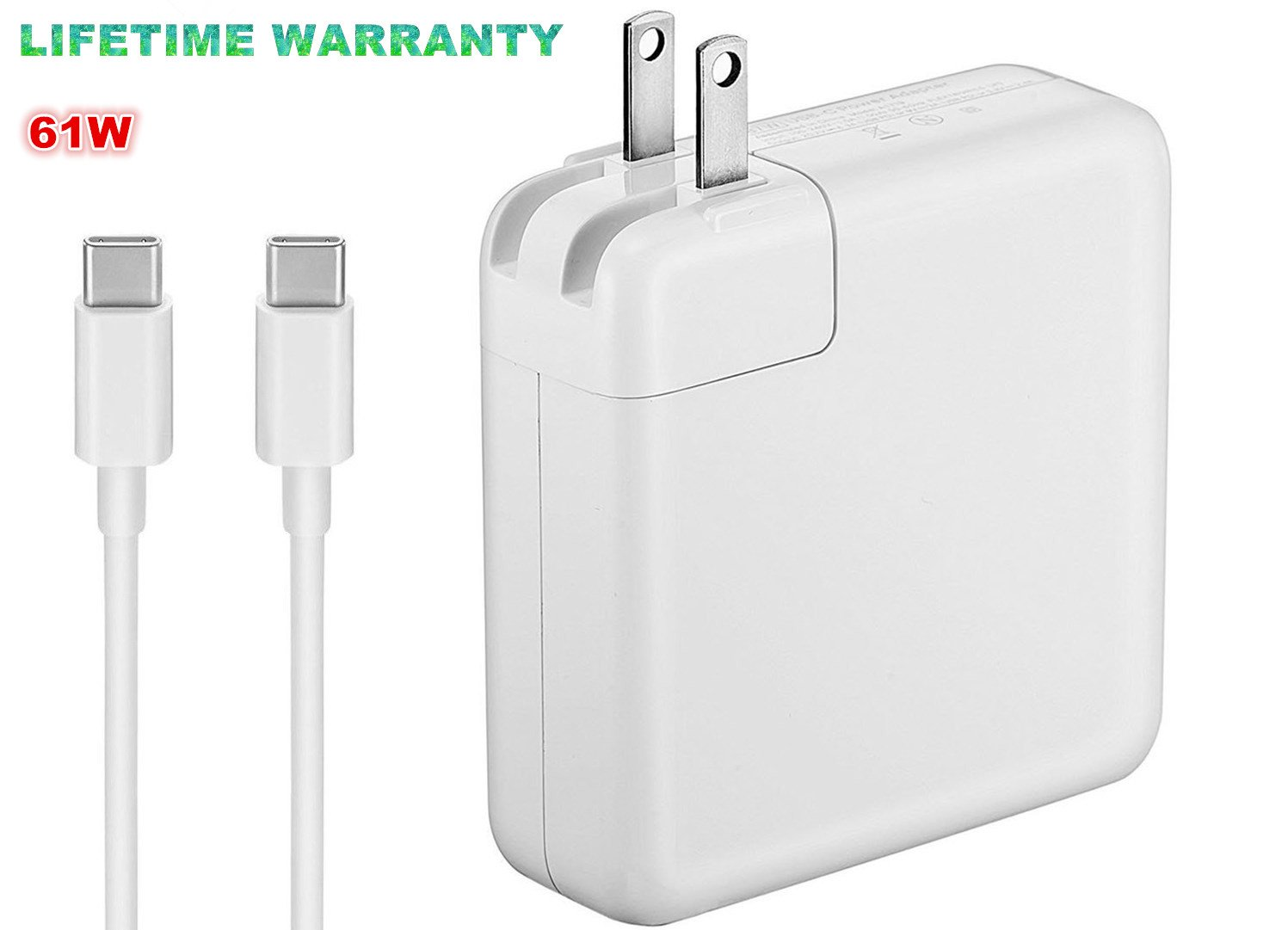 Amazon.com: (Original Quality) 61W USB-C Power Adapter ...