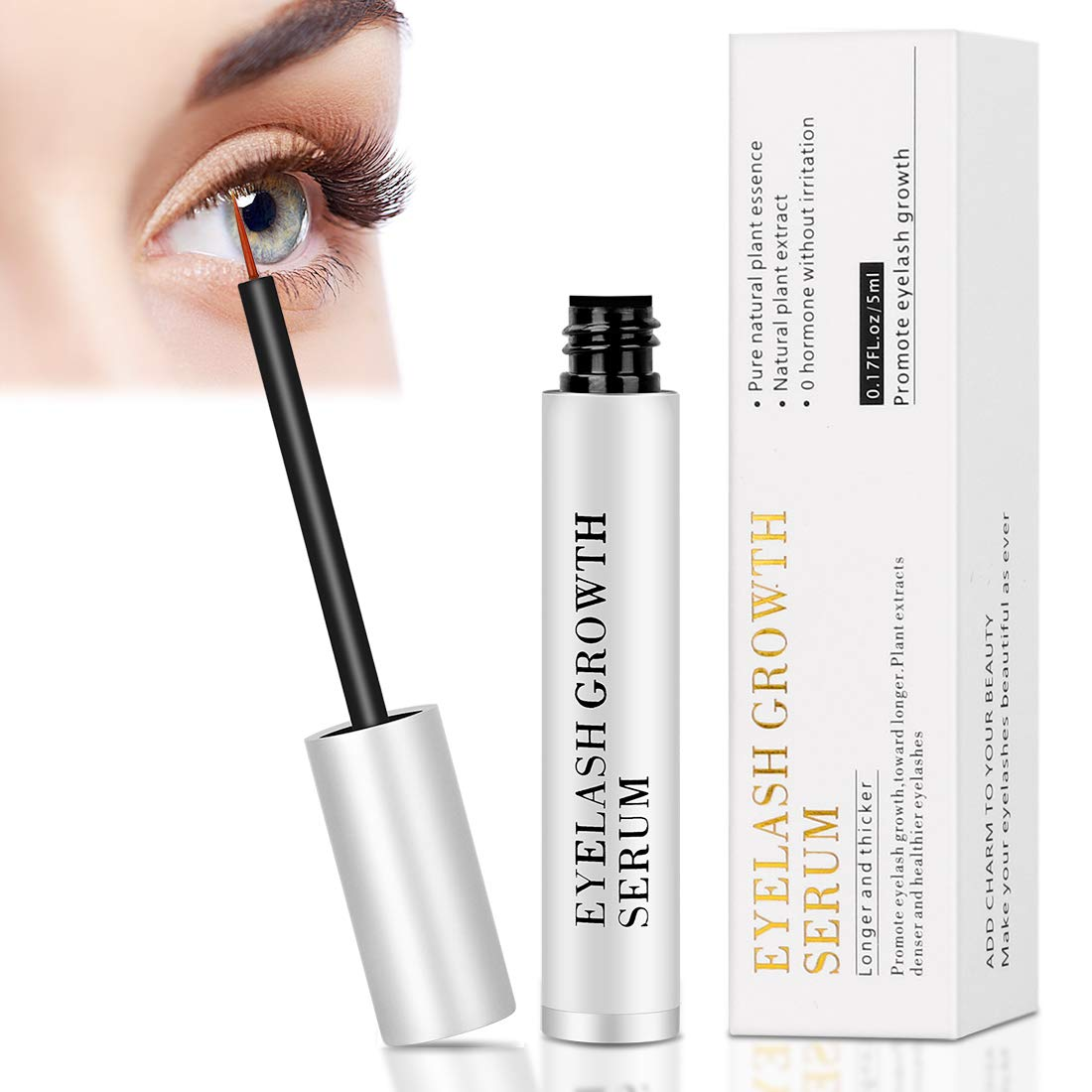 83ebfd5a533 Amazon.com: Lash Growth Serum Enhancer- Eyelash Growth Serum for Lashes  Gives You Thicker and Longer Eyelash: dsgbsdb104: Beauty