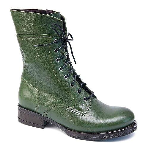 laest technology Einkaufen bis zu 60% sparen Brako Stiefel Boots 6738 Traviata Verde Alba Leder grün m ...